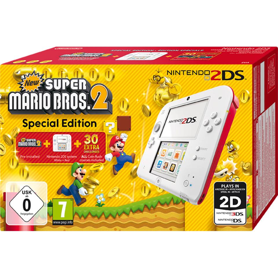 Nintendo 2DS + Super Mario Bros 2 € 83,00 inclusief verzenden (na VriendenVan) bij Redcoon