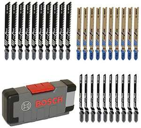 30-delige set Decoupeerzaag bladen Bosch Professional