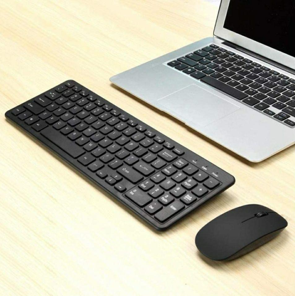 Draadloos toetsenbord en muis (Amazon)