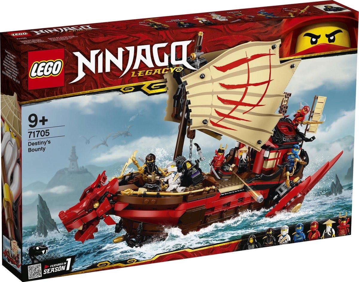 LEGO NINJAGO Legacy Destiny's Bounty 71705 @ Amazon NL & Bol.com (Select)
