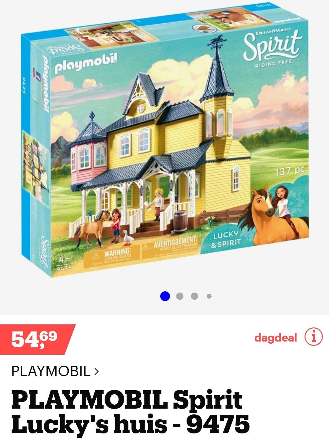 Playmobil 9475 Spirit Lucky's huis