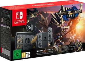 Nintendo Switch Console - Monster Hunter Rise Edition (Pre-order) @ Amazon.fr