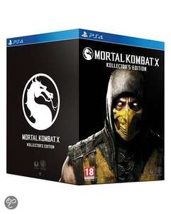 Mortal Kombat X - Kollectors Edition (PS4 / Xbox One) voor €34,99 @ Bol.com