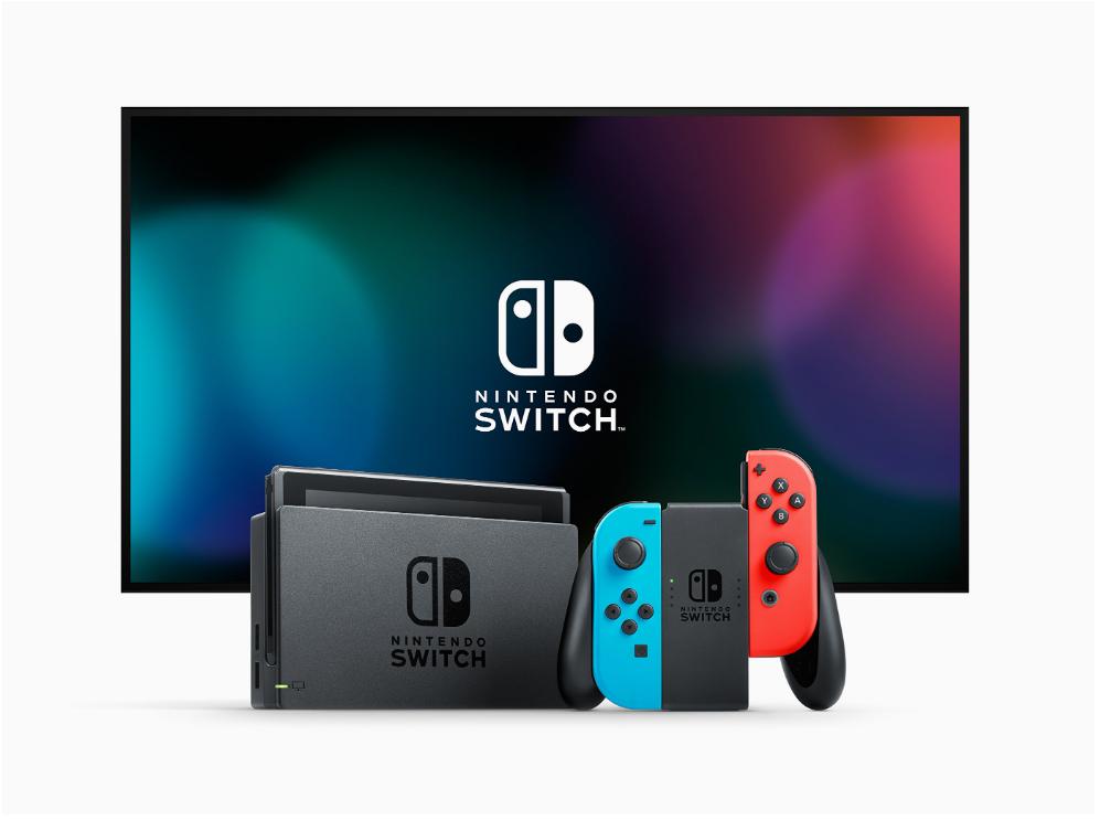 Nintendo Switch 32GB / blauw, rood @Amazon.fr
