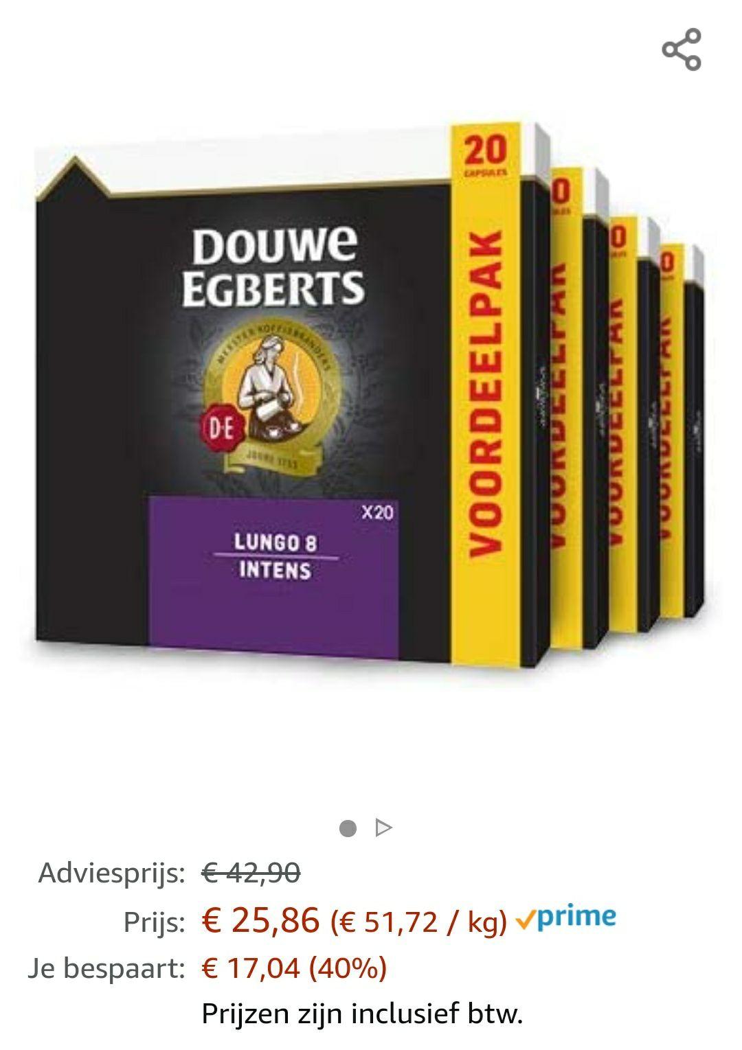 Douwe Egberts Lungo 8 (200 cups)