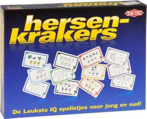Selecta TacTic Hersenkrakers - educatief spel