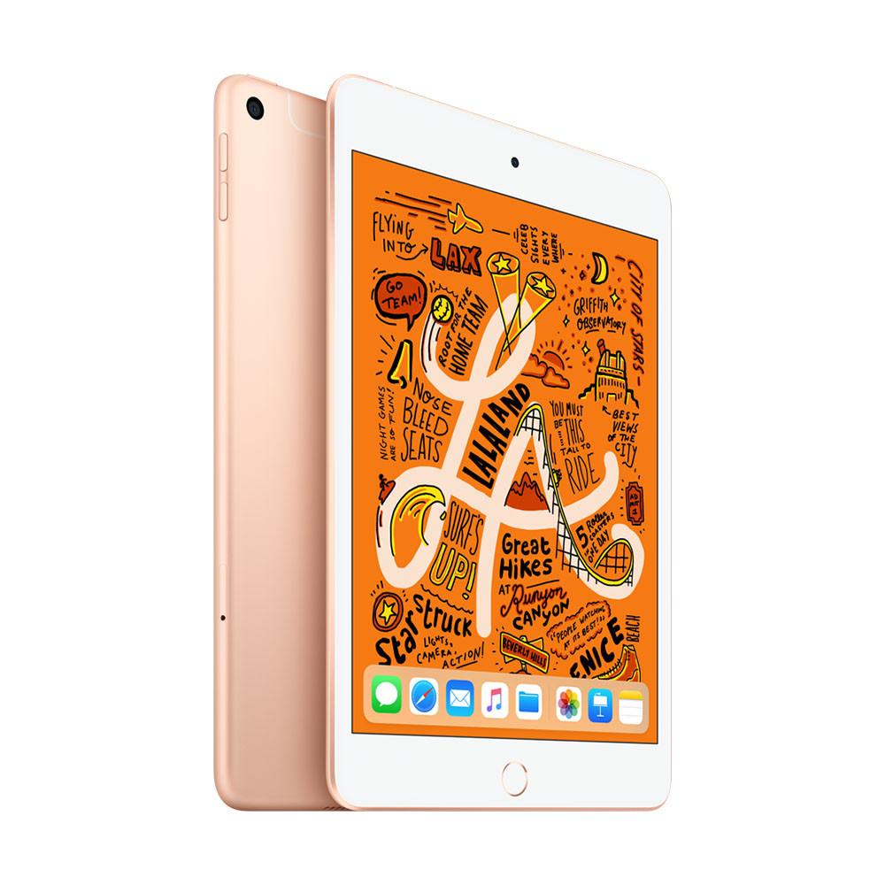 Apple iPad Mini (2019) - 7.9 inch - WiFi + 4G - 256GB - Goud @ Bol.com