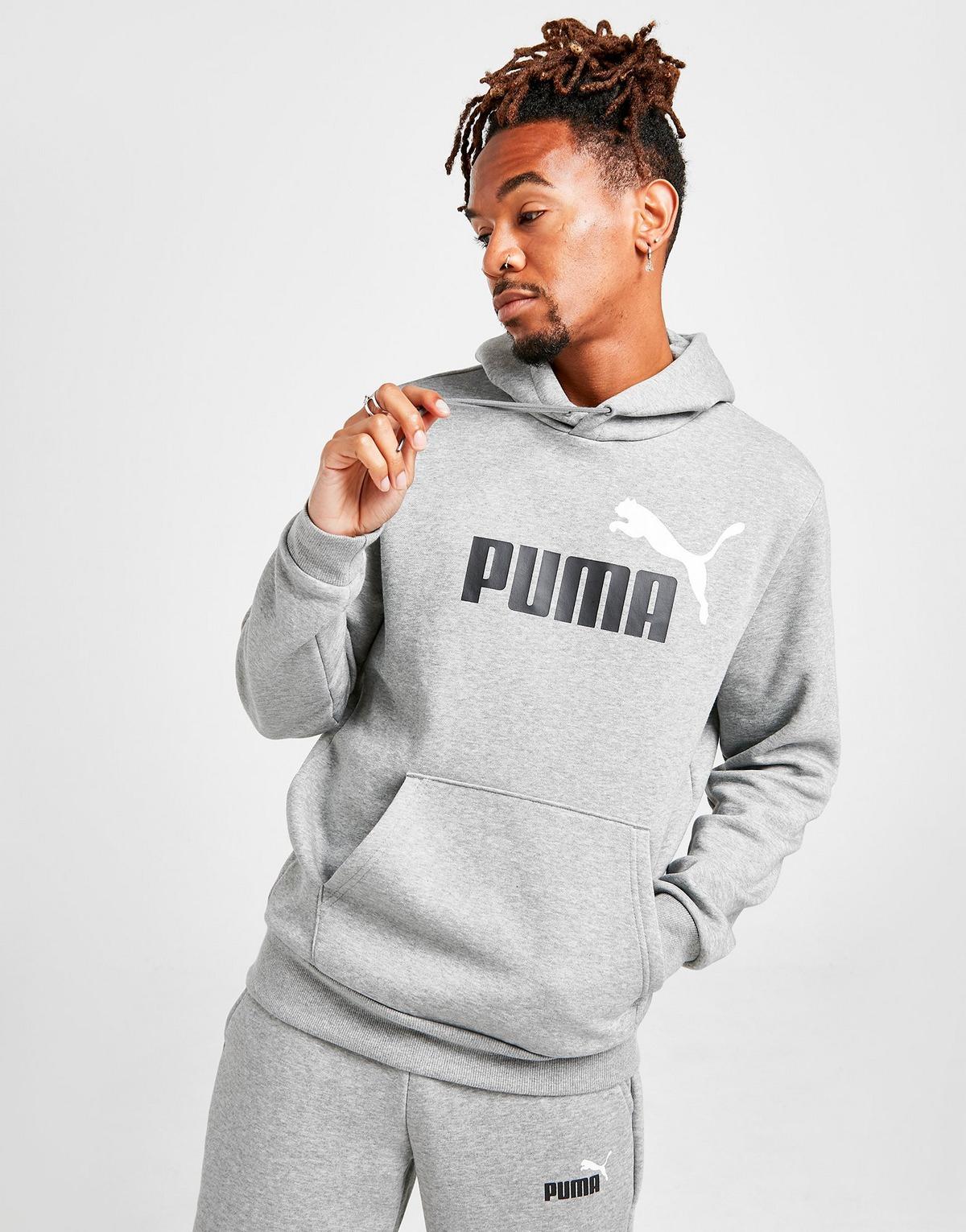 Puma Core Logo Overhead Hoodie Heren