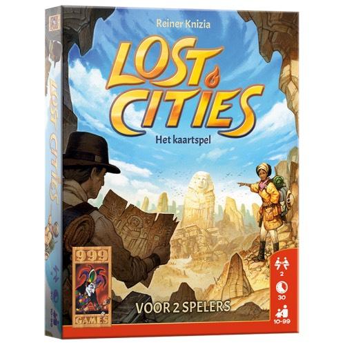 999 Games Lost Cities - Het kaartspel [+ 5 andere spellen met korting] @ Top1Toys