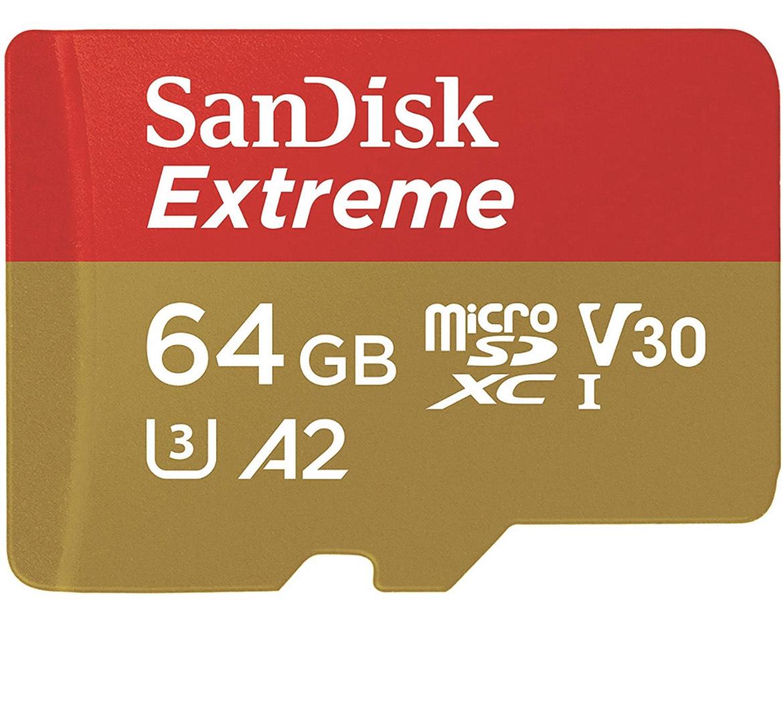 Sandisk microSD kaart 64GB SDXC