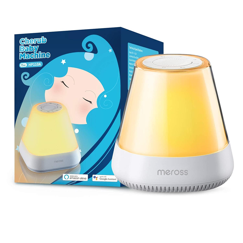 [Nu €25,80] Meross dimbare nacht tafellamp LED met geluidseffecten, compatibel met Alexa en Google voor €26,99 @ Amazon NL