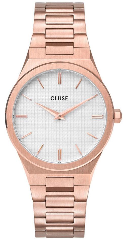 Cluse roségoud dames horloge