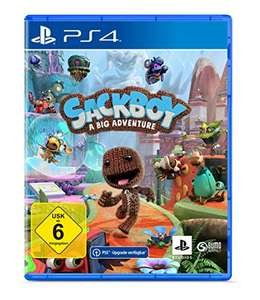 Sackboy The Big Adventure - PS4 (free upgrade to PS5)