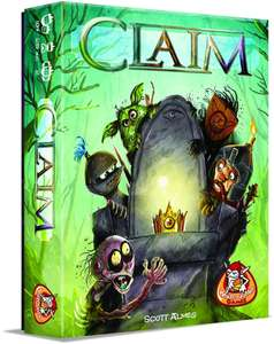 Gratis spel 'Claim' twv €11,95 bij aankoop 2-spelerspel (v.a. €11,95) @ White Goblin Games