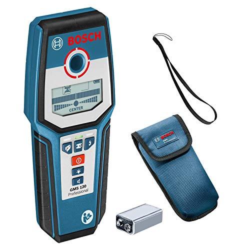 Bosch GMS 120 Professional Multidetector, zwart, blauw (MET COUPON)