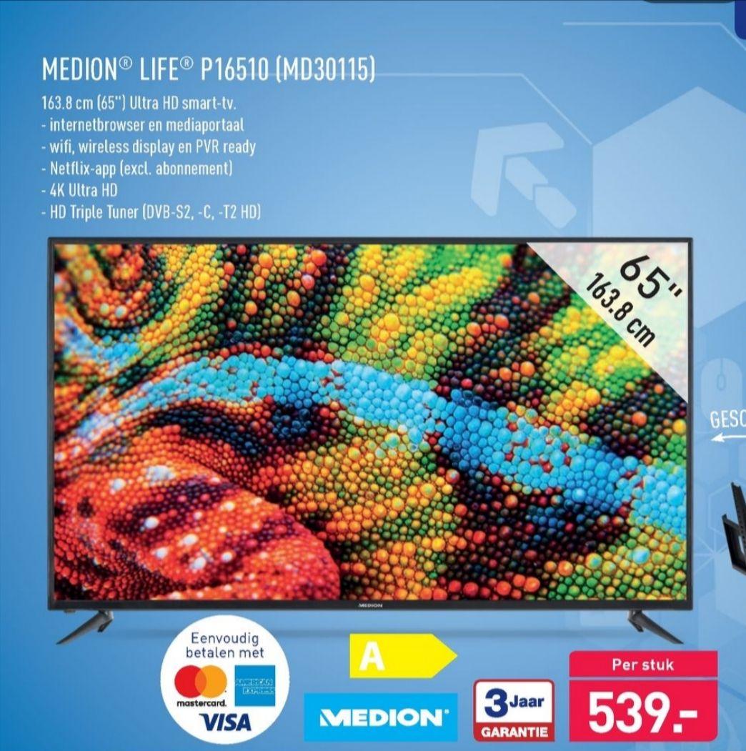"""65"""" ultra HD TV @ Aldi"""