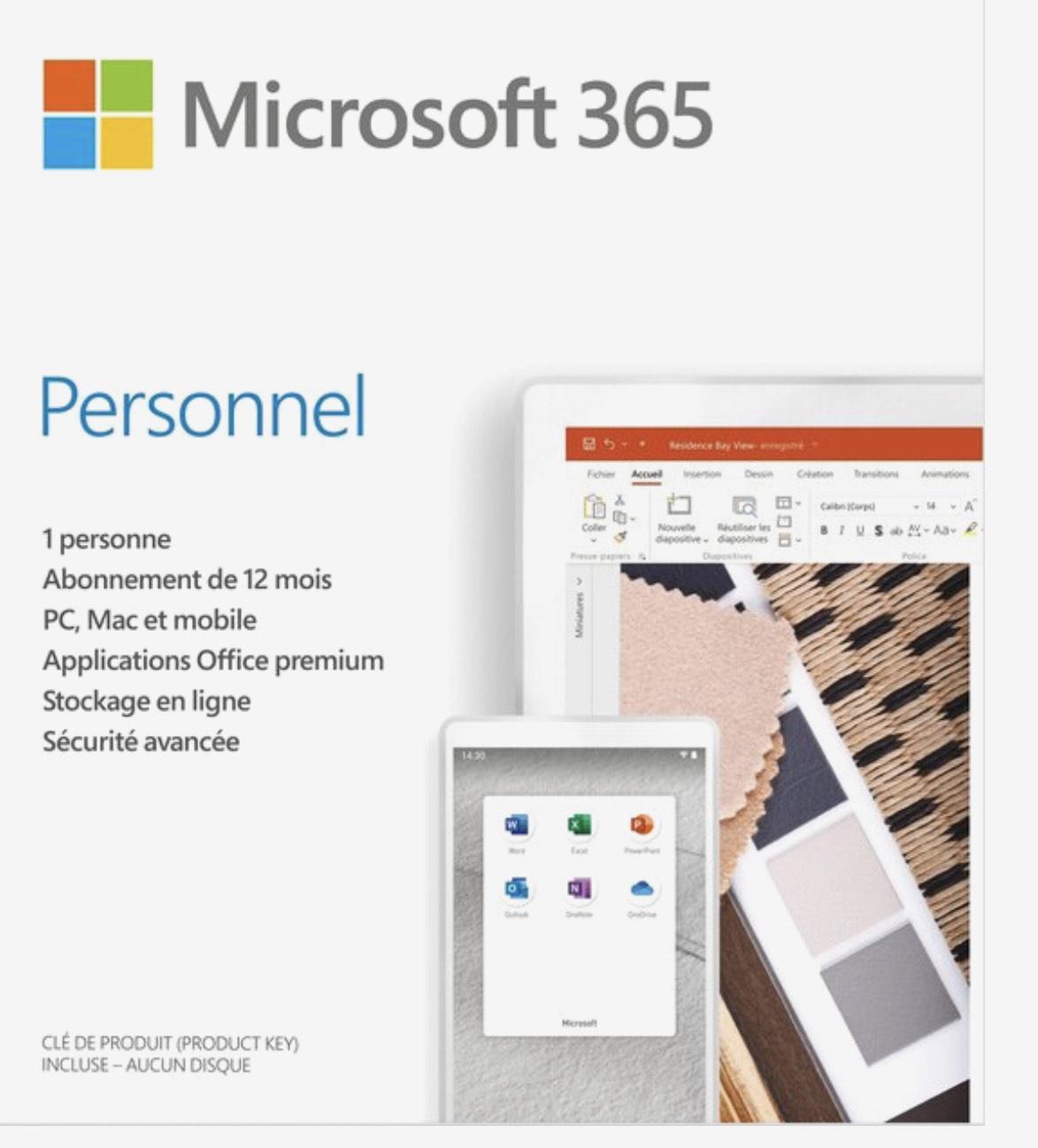 Microsoft 365 Personal 1 jaar