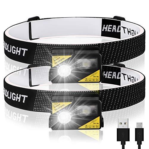 2X Guiseapue LED hoofdlamp @ Amazon DE