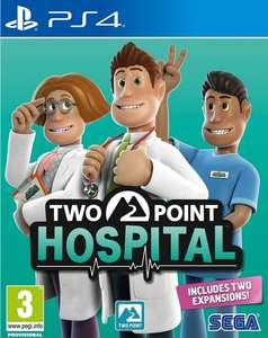 Two Point Hospital PS4 €14,99 bij Bol.com met 'Select'