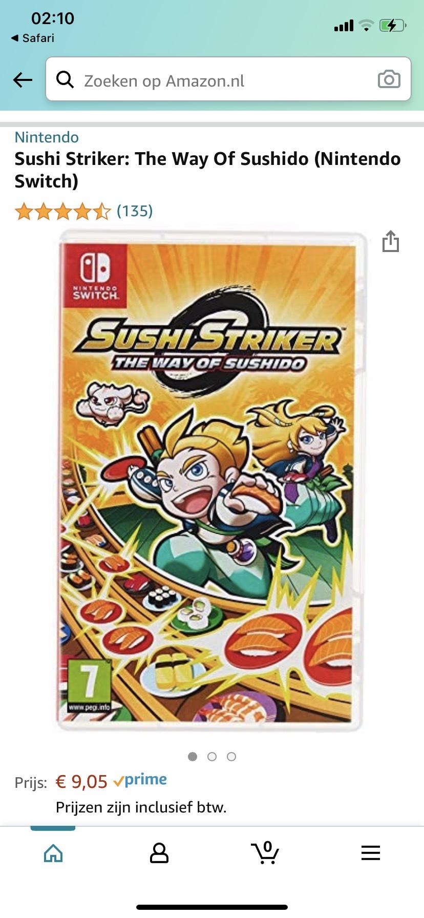 Sushi Strikers Nintendo Switch