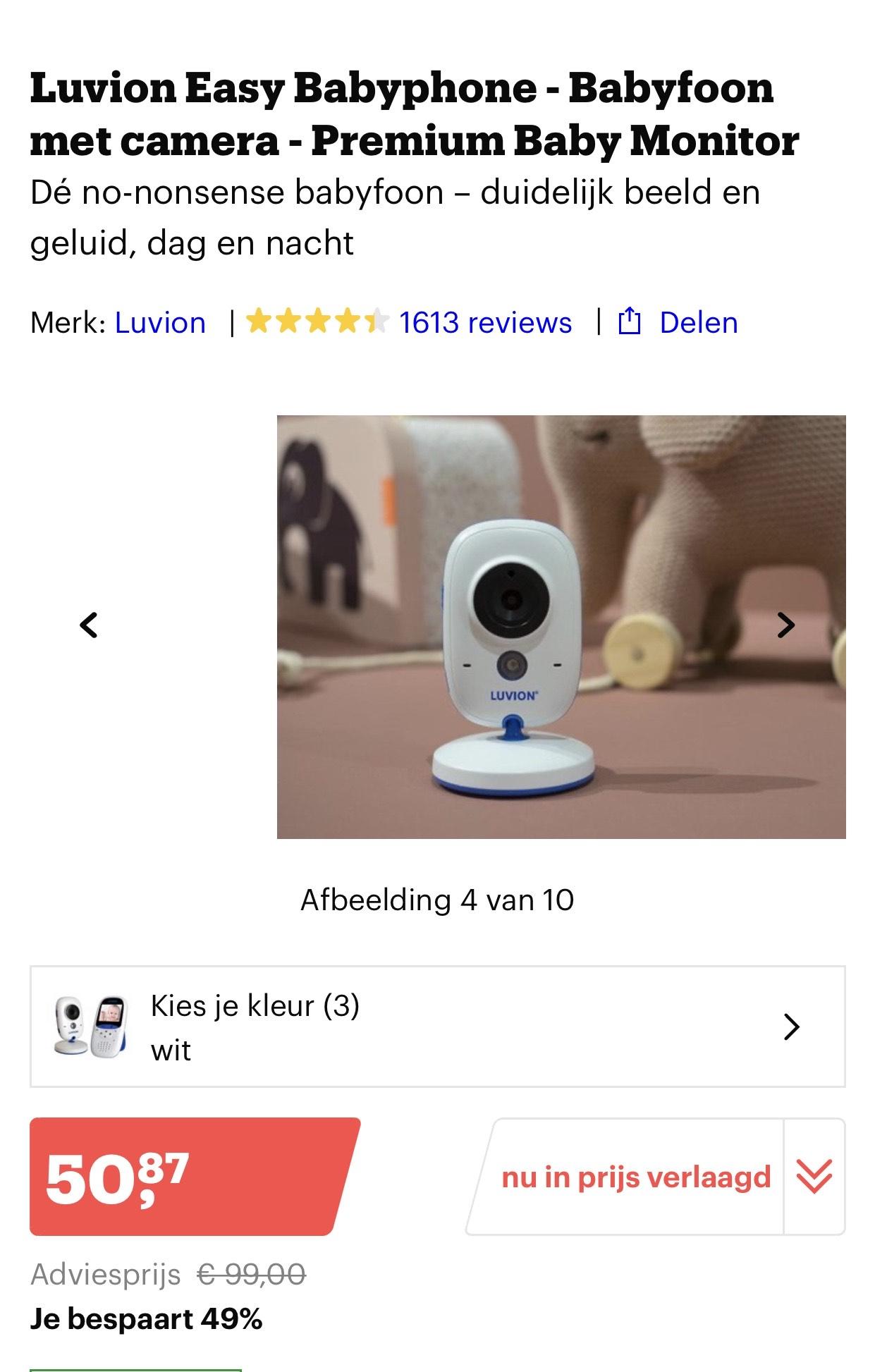 Babyphone bol.com