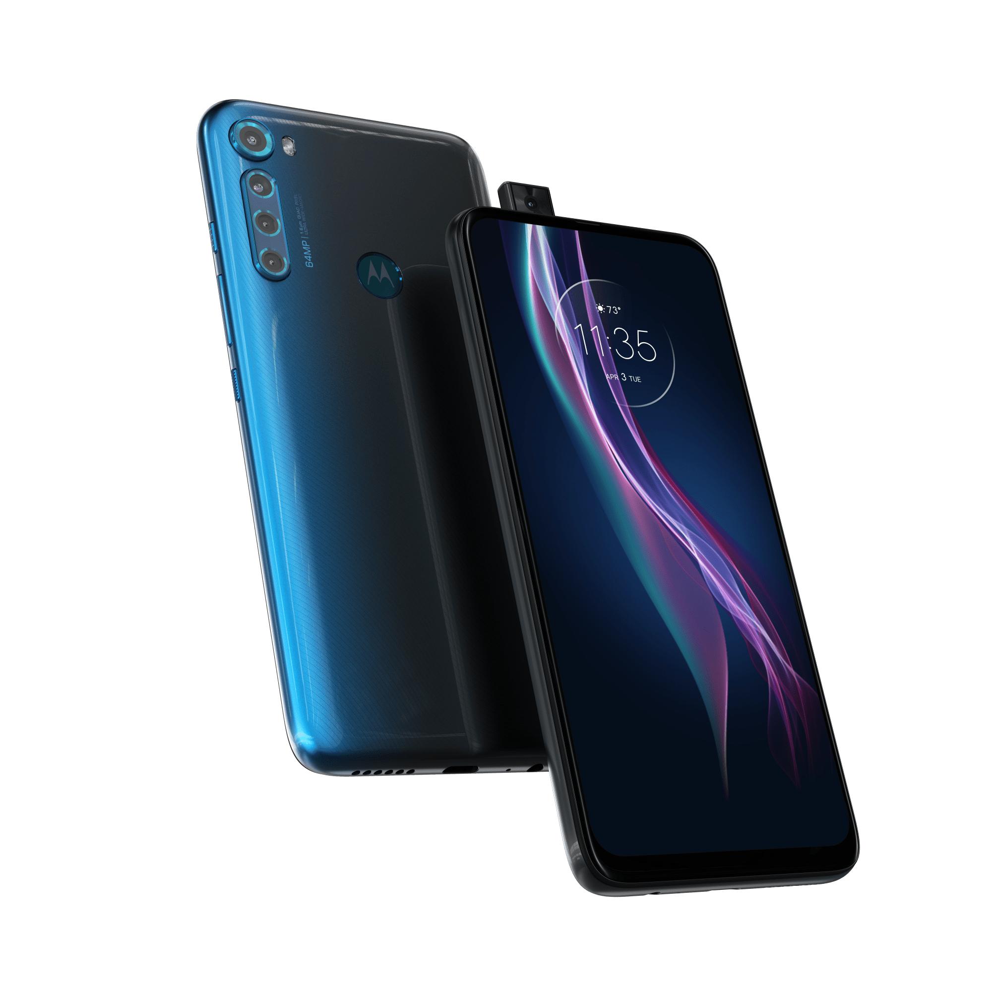 Motorola One Fusion+ Blauw