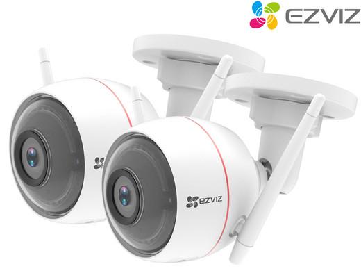 2x Ezviz C3W Full HD Beveiligingscamera @ iBOOD