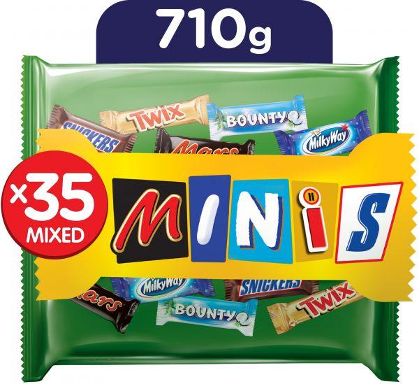 35 Mini's uitdeelzak €2 @ Die Grenze (64% korting)