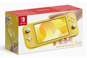 Nintendo Switch Lite, geel
