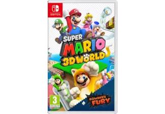 (Belgie) Nintendo Switch Super Mario 3D World + Bowser's Fury Pre Order