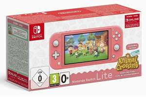 Nintendo Switch Lite + Animal Crossing + 3 maanden Nintendo online