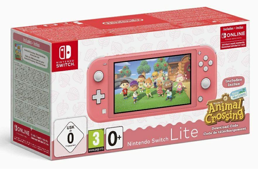 Nintendo Switch Lite + Animal Crossing + 3 maanden Nintendo online