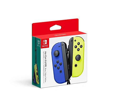 Nintendo Joy-Con Controller Blauw Geel @ amazon.de