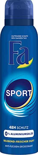6x150ml FA Deospray Sport