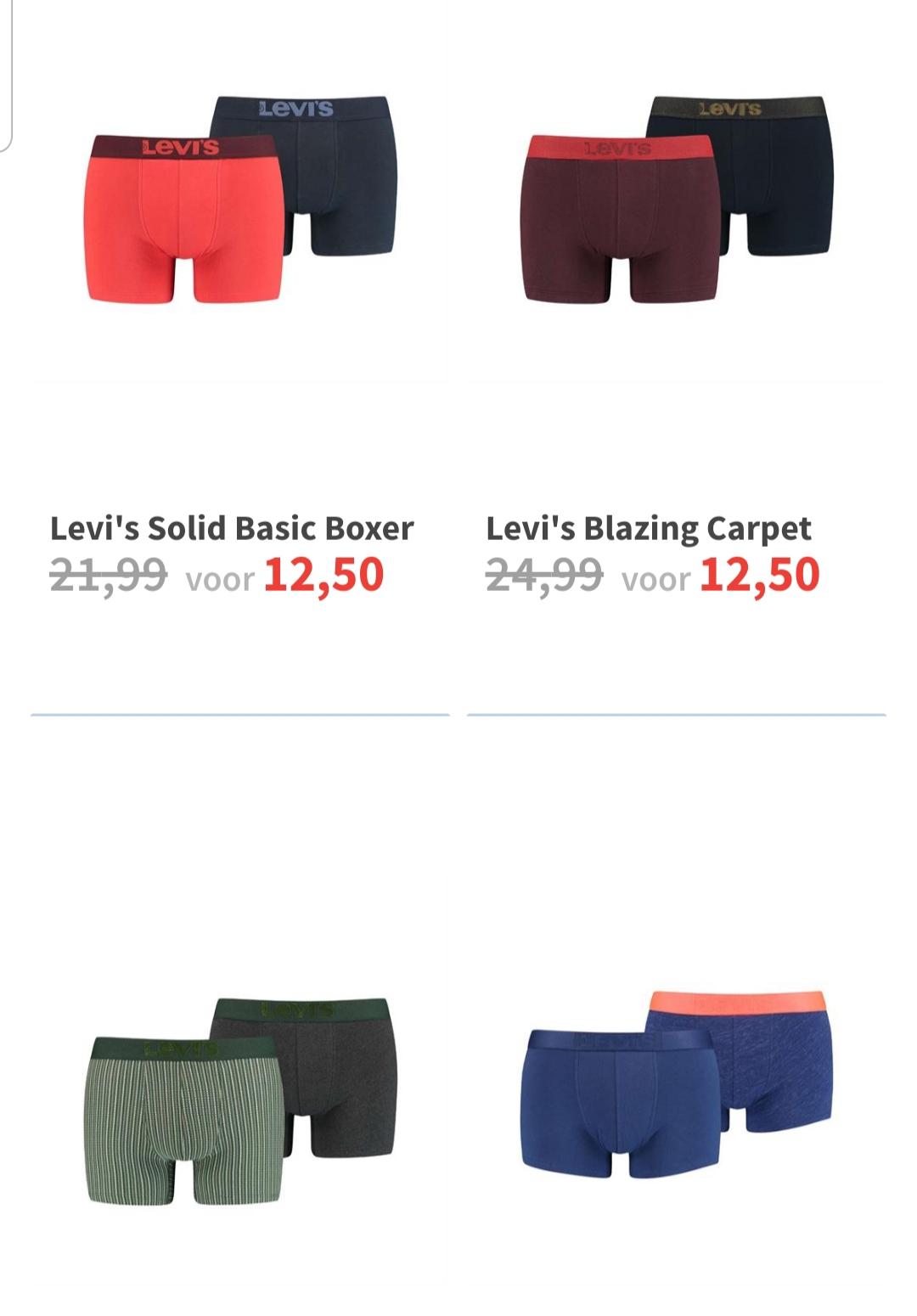 Levi's boxershorts 2-pack @ Intersport twinsport