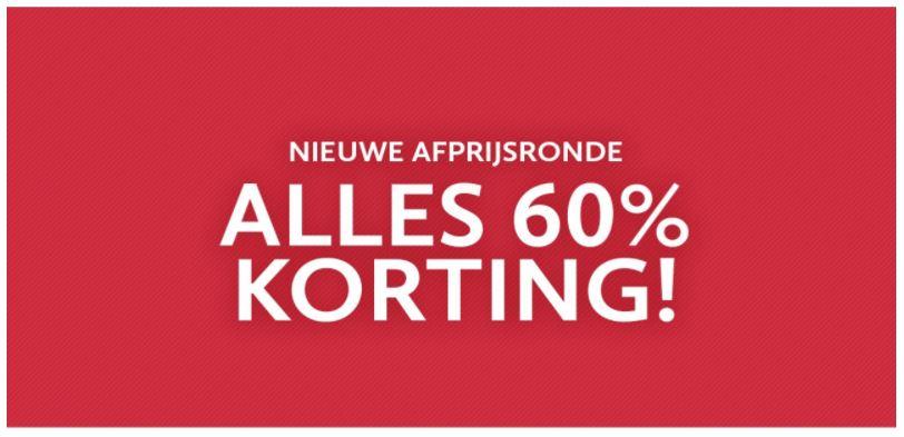 ALLE sale -60% @ Anna van Toor