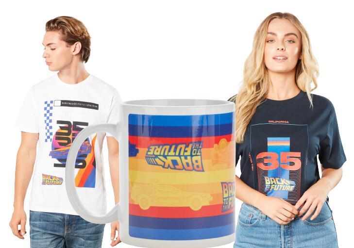 Nieuwe Back To The Future bundel: 1 t-shirt + 1 mok voor €9,99 @ Zavvi