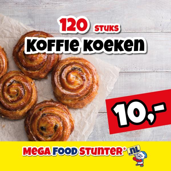 Veel eten voor € 1,- bij megafoodstunter.nl
