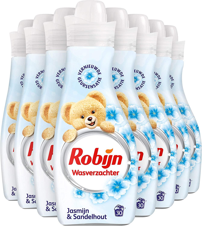 Robijn Jasmijn & Sandelhout Wasverzachter - 240 wasbeurten - 8 x 750 ml €7,15 [Geen verzendkosten voor prime leden!]
