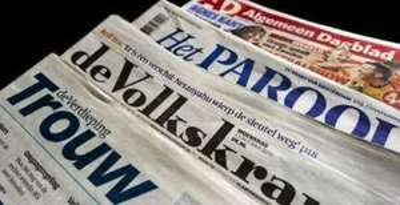 3 weken gratis de krant (volkskrant/parool/trouw)