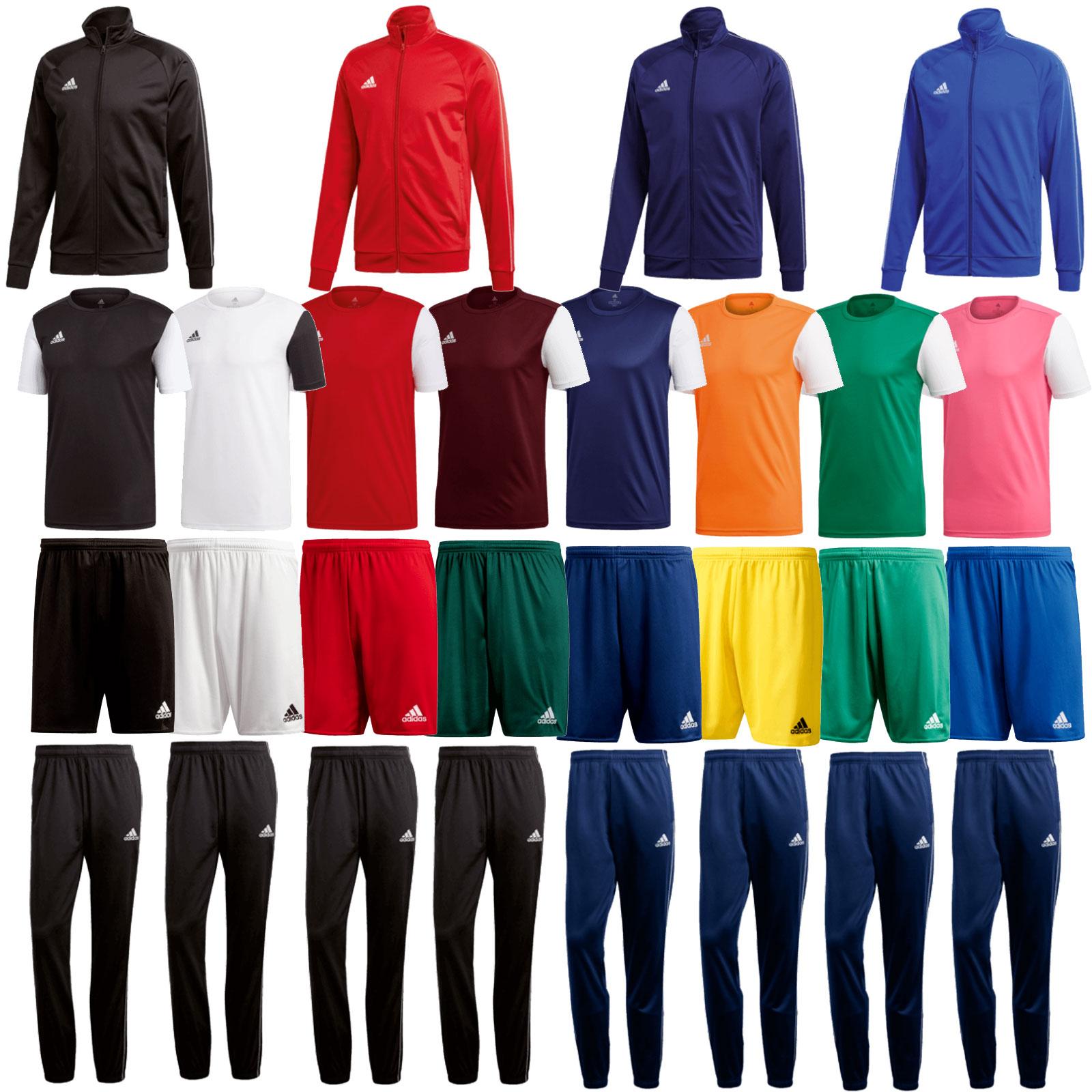 4-Delige adidas trainingsset - Mix & Match - diverse kleuren + maten