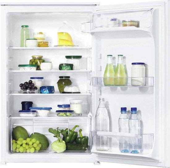 Zanussi ZBA15021SV - Inbouw koelkast 142 liter @ Bol.com