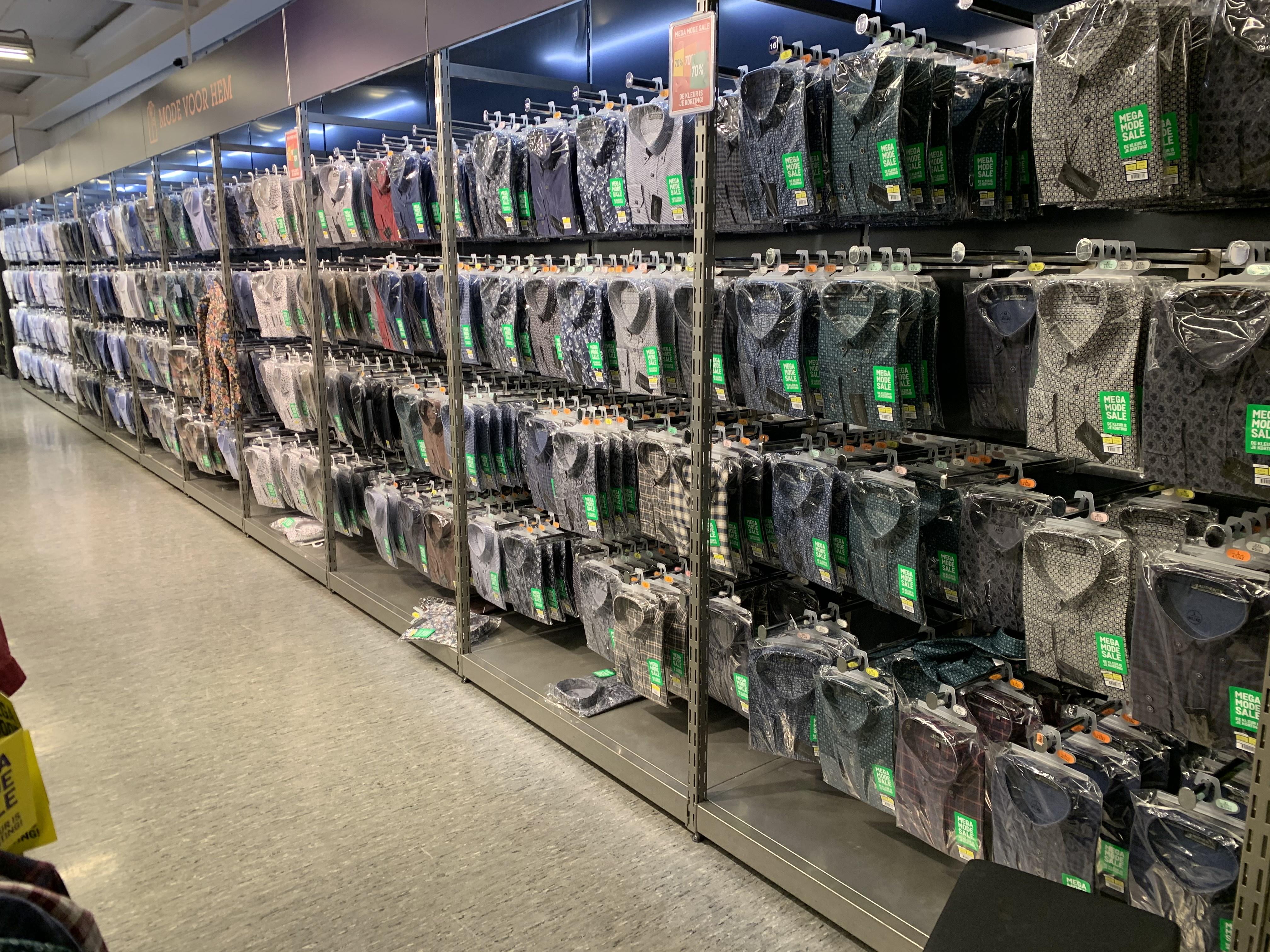 MegaModeSale: 70% korting op de (meeste) kleding bij Makro