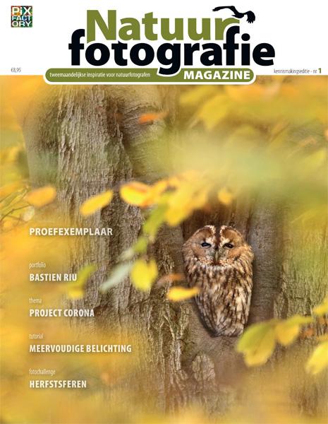 Gratis digitaal proefnummer van Natuurfotografie Magazine [kijk bij LET OP]