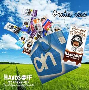 2e reep Hands Off My Chocolate gratis @ AH / Jumbo (geldterug)