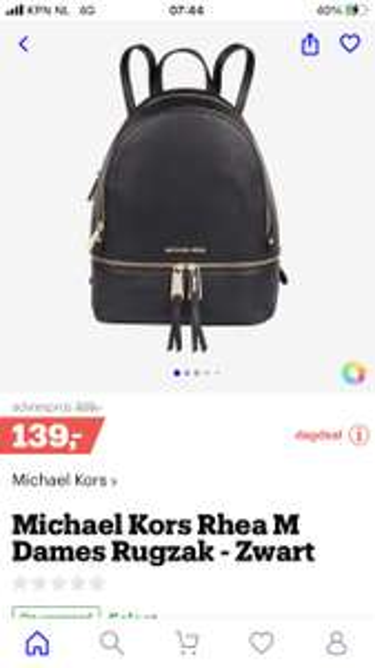 Michael kors rea m backpack