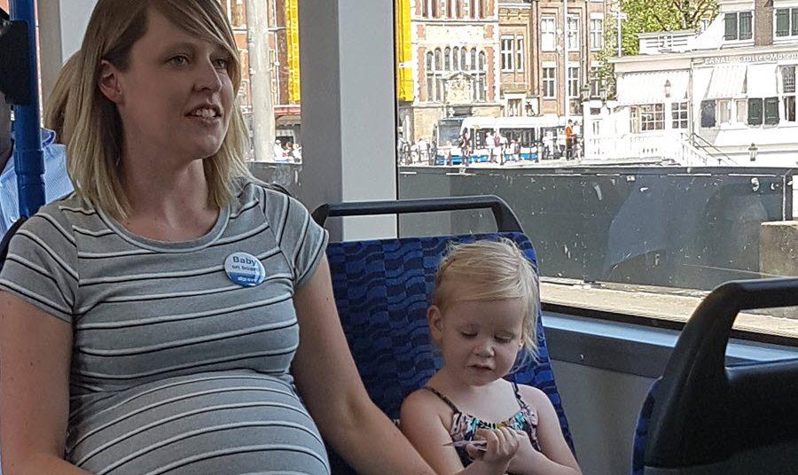 Gratis Baby on board button (beschikbaar 2021)