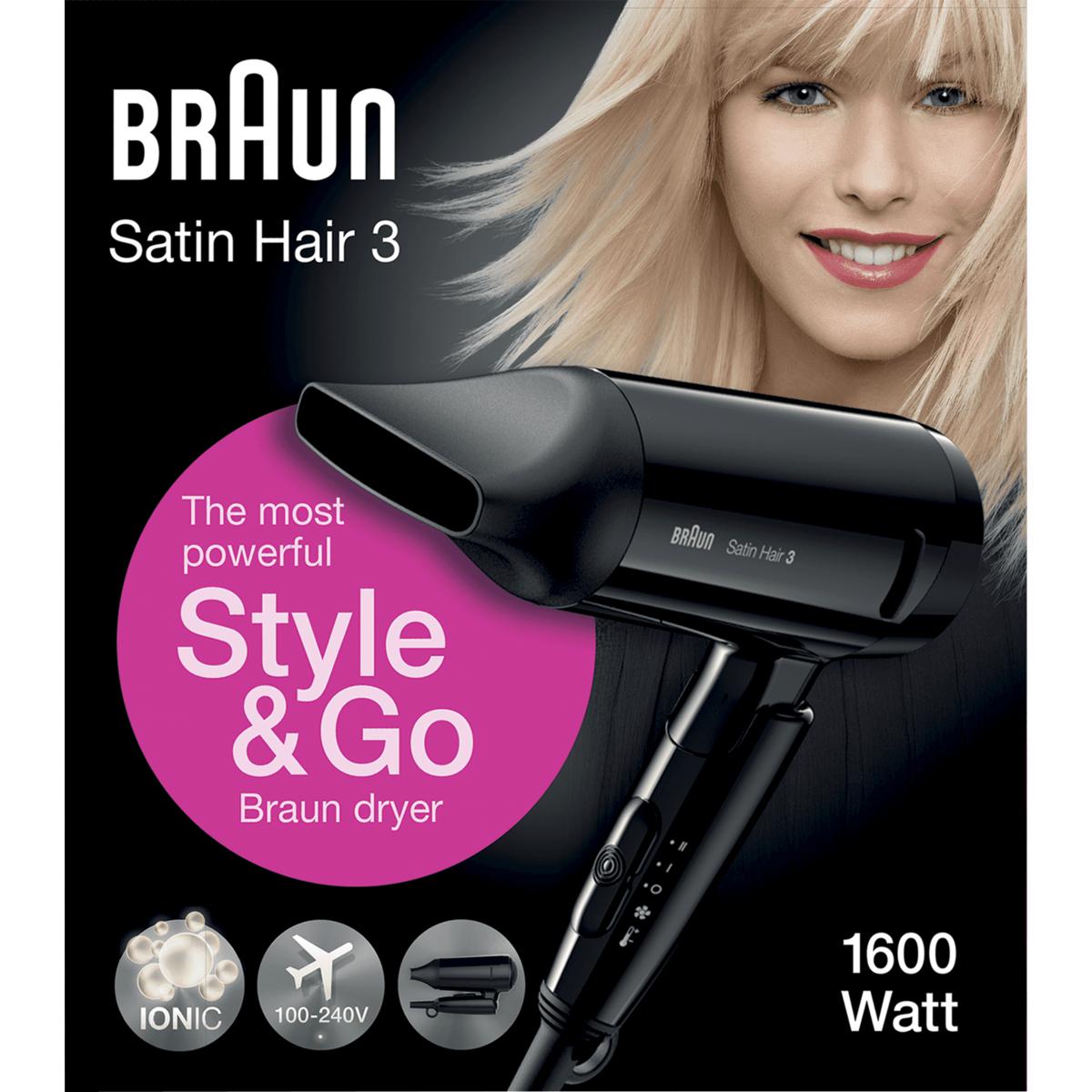 Braun HD 350 Style&Go haardroger @ Etos Webshop - verzending vanaf €20
