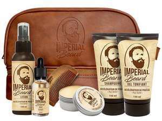 Imperial Beard uitgebreide Baardverzorgings set - 6 Delig @ iBOOD