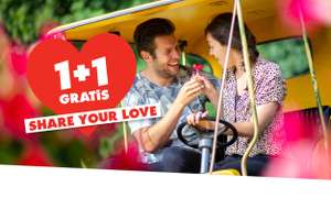 1+1 Gratis Op Tickets Walibi Holland